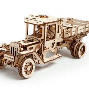 Ugears LKW Modell UGM 11 –Modell aus Holz Truck, Holzbausatz, 420 Teile