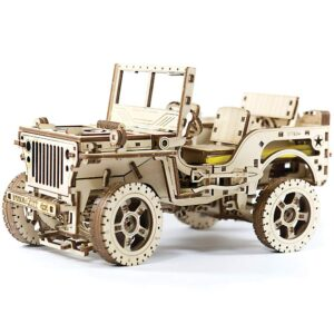 Modell-aus-Holz-–-Jeep-4x4-–-3D-Holzpuzzle571-Teile