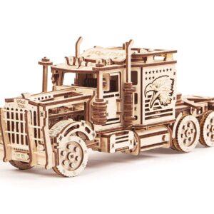 Modell-aus-Holz-–-LKW-groß-Big-Rig-–-Brainteaser-aus-Holz-485-Teile