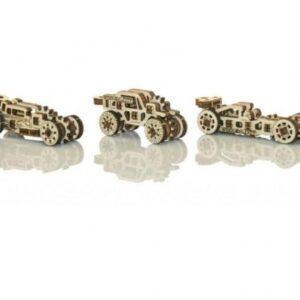 Modelle aus Holz Rennwagen Holzbausätze Autos, diese können als Anhänger für Schlüsselanhänger verwendet werden