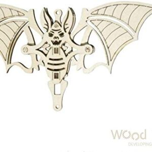 Woodik Fledermaus - Modell aus Holz für Kinder.