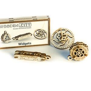 Widgets - Holzpuzzle - Werkzeuge Wooden City