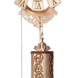 Wood Trick Mechanische Uhr – Pendulum Uhr aus Holz– Brainteaser aus Holz,251 Teile