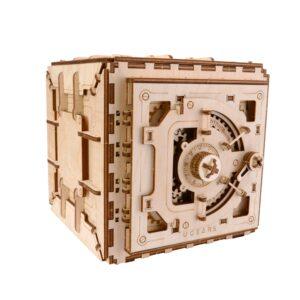 Ugears Safe – Geldschrank – Modell aus Holz – Holzbausatz, 179 Teile,14+