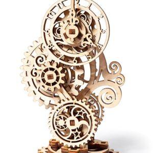Ugears – Lernpuzzle- Clockpunk-Uhr-43 Teile