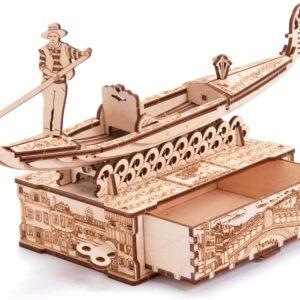 Wood Trick – Holzbausatz für Kinder– Gondel – Gondoletta,82 Teile