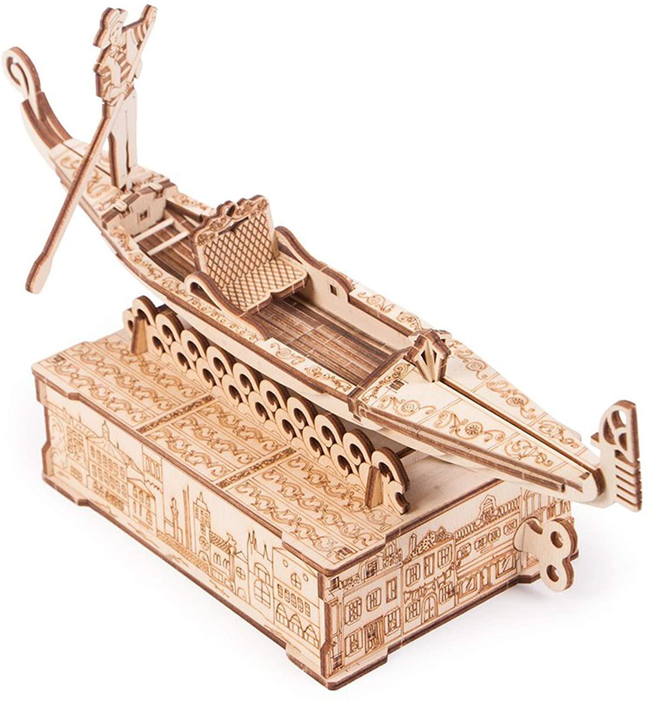 Modell aus Holz Gondel, Holzbausatz für Kinder und Anfänger