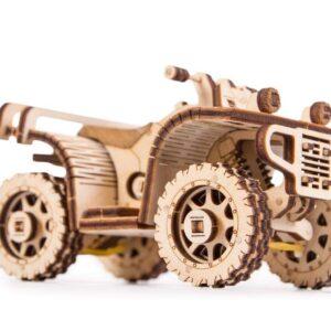 Wood Trick – Holzbausatz für Kinder – ATV –Holzmodell Holzpuzzle , 57 Teile