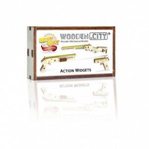 Waffen aus Holz - Holzwaffen Spielzeug - Modelle aus Holz für Kinder