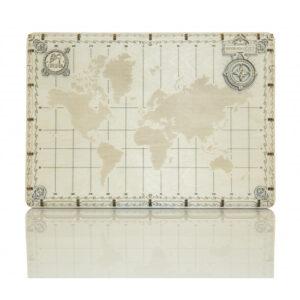 Wooden City – Lernpuzzle – kleine Weltkarte – 40 Teile