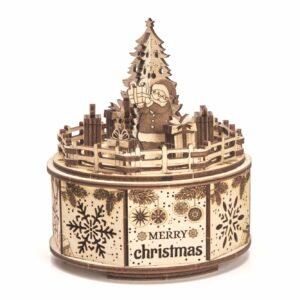 Wood Trick – Musikdrehdose aus Holz– Gifts from Santa - Geschenke vom Weihnachtsmann_4