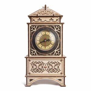 Wood Trick – Klassische Uhr – Retro Standuhr aus Holz – Modell aus Holz Uhr