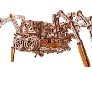 Wood Trick – Space Spider aus Holz– Modell aus Holz Spinne für Bastler