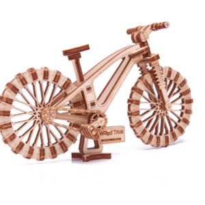 Wood Trick – Woodik Fahrrad – Modell aus Holz Fahrrad – mechanisches Holzmodell Fahrrad für Kinder_4