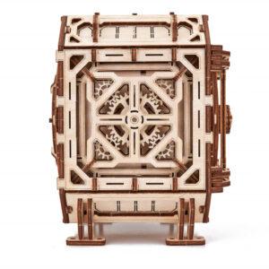 Wood Trick – mechanischer Tresor – Modellbausatz Schatzkiste -_2