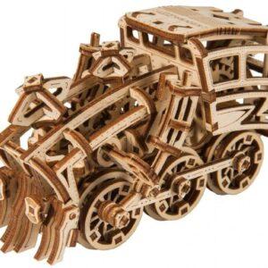 Wooden City - Modell aus Holz Dream Express Zug – Holzbausatz Zug der Träume – Modellbau für Bastler Zug